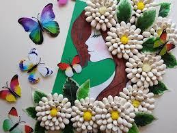 """Nasze Bąbelkowo. Macierzyństwo. Miłość. Adopcja. : Z tęsknoty za słońcem. Praca  plastyczna """"Pani Wiosna"""" + wiosenne kwiaty DIY z nasion fasoli."""